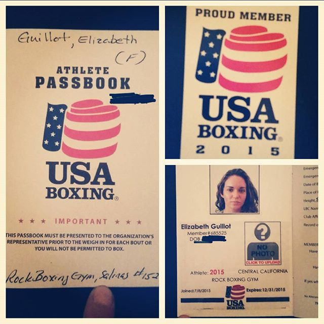 Boxing Passport
