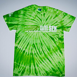 Buck Furpees-Green, Tye Dye, T-Shirt