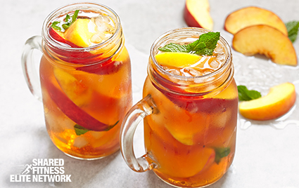 Pour this fragrant, refreshing tea at brunch, or pack it into your picnic basket. Fresh stone fruit offers intense flavor and nutrients, and berries are some of the most nutrient-dense foods.
