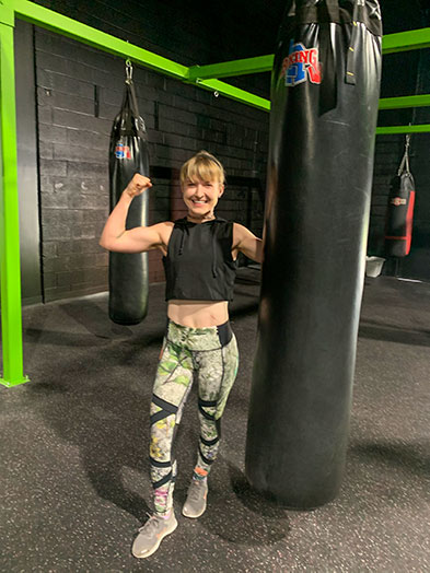 Megan Carpenter | Kickboxing, Personal Trainer Elite SFN Fitness Gym Columbia MD