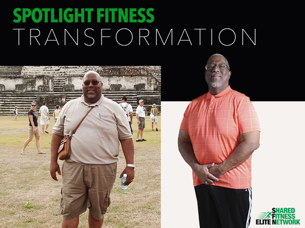 Lifestyle changes made by Kenneth Kelly at EliteShared Fitness Network gym Columbia, MD.