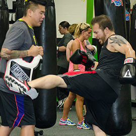Cardio Kickboxing fitness classes in Columbia, Ellicott City, Catonsville, Baltimore County, Baltimore City, MD.